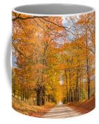Old Coach Road Autumn Coffee Mug
