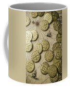 Old Coins On Old Map Coffee Mug