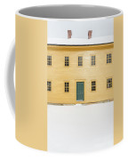 Old Colonial Era Period House In Winter Coffee Mug