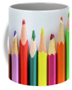 Old Colored Pencils Coffee Mug