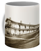 Old Cuartel. Mexican Soldiers Barracks Monterey Circa 1885 Coffee Mug
