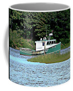 Old Dog On Bass River Coffee Mug