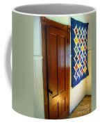 Old Door - New Quilt Coffee Mug