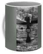 Old Door Latch Coffee Mug