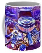 Old Engine Of American Car Coffee Mug