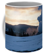 Old Faithful At Daybreak Coffee Mug