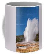 Old Faithful Eruption Two Coffee Mug
