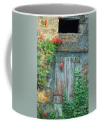 Old Farm Door Coffee Mug