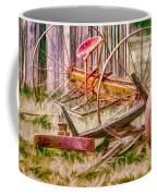 Old Farm Tools Coffee Mug