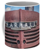 Old Farmall Tractor Grill And Nameplate Coffee Mug