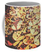 Old Fashion Landmark Buttons Coffee Mug
