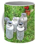 Old Fashioned Milk Churns Coffee Mug