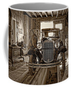 Old Fashioned Tlc Monochrome Coffee Mug