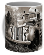 Old Firetruck Coffee Mug