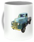 Old Flat Bed Ford Work Truck Coffee Mug
