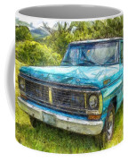 Old Ford Pick Up Truck Pencil Coffee Mug