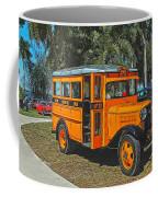Old Ford School Bus No. 32 Coffee Mug