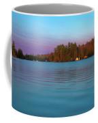 Old Forge Pond Panorama Coffee Mug