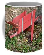 Old Garden Wheel Barrow Coffee Mug