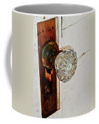 Old Glass Doorknob Coffee Mug