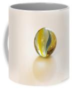 Old Glass Marble Coffee Mug