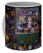 Old Green Toy Box Coffee Mug