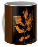 Old Hickory Leaf Coffee Mug