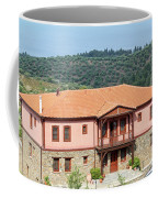 old house Sithonia Greece summer vacation scene Coffee Mug