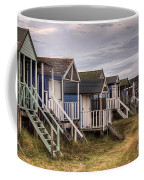 Beach Huts At Old Hunstanton Coffee Mug