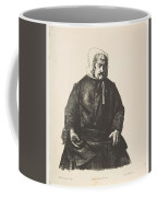 Old Irish Woman, First State By George Bellows Coffee Mug