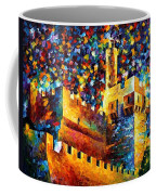 Old Jerusalem Coffee Mug by Leonid Afremov