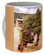 Old John Deer Tractor Coffee Mug