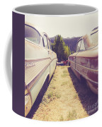 Old Junkyard Cars Chevy And Ford Utah Coffee Mug