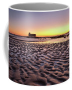 Old Lifesavers Building Covered By Warm Sunset Light Coffee Mug