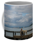 Old Man And His Dog Coffee Mug