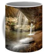 Old Man's Cave Falls Coffee Mug