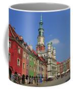 Old Marketplace And The Town Hall Poznan Poland Coffee Mug