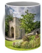 Old Medieval Bridge At Warkworth Coffee Mug