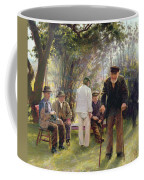 Old Men In Rockingham Park Coffee Mug