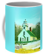 Old Mission Point Lighthouse Coffee Mug