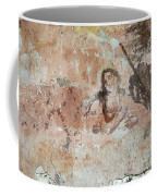 Old Mural Painting In The Ruins Of The Church Coffee Mug