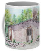 Old New Mexico House Coffee Mug