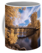 Old North Bridge In Infrared Coffee Mug by Brian Hale