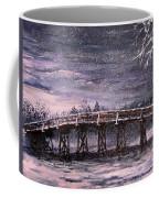 Old North Bridge In Winter Coffee Mug