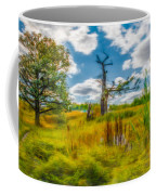 Old Oaks Painterly.  Coffee Mug