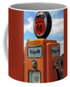 Old Phillips 66 Gas Pump Coffee Mug