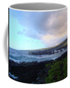 Old Pier At Honuapo Bay Coffee Mug