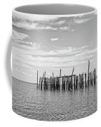 Old Pier Provincetown Harbor Cape Cod Coffee Mug