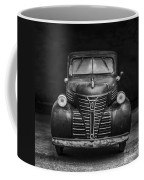 Old Plymouth Truck Square Coffee Mug