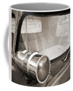 Old Police Car Siren Coffee Mug